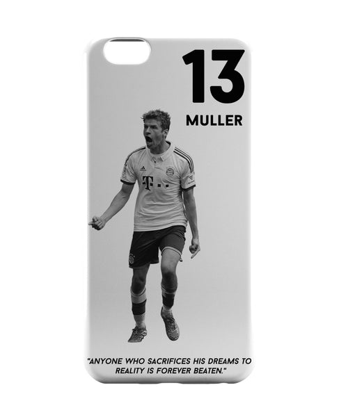iPhone 6 Case & iPhone 6S Case | Thomas Muller Motivational Football iPhone 6 | iPhone 6S Case Online India | PosterGuy