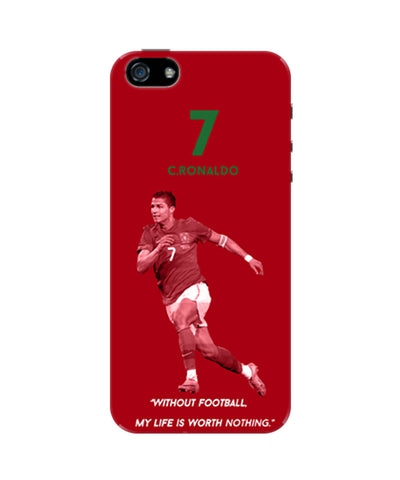 Cristiano Ronaldo Motivational iPhone 5 / 5S Case
