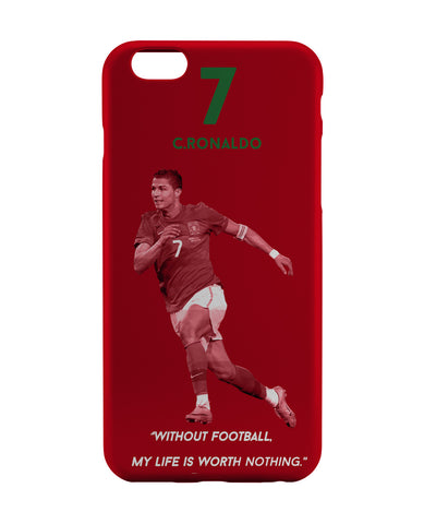 iPhone 6 Case & iPhone 6S Case | Cristiano Ronaldo Motivational Football iPhone 6 | iPhone 6S Case Online India | PosterGuy
