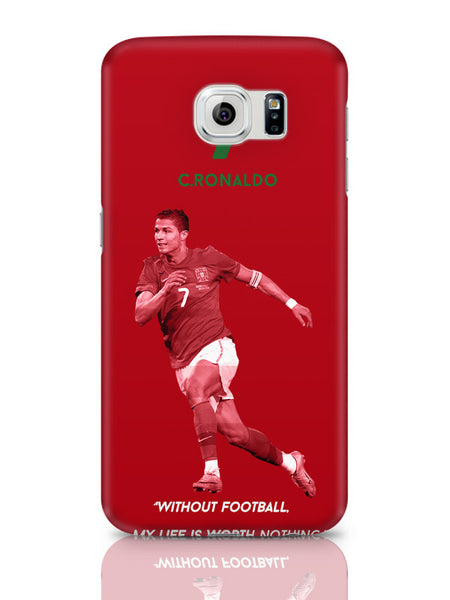 Samsung Galaxy S6 Covers & Cases | Cristiano Ronaldo Motivational Football Samsung Galaxy S6 Covers & Cases Online India