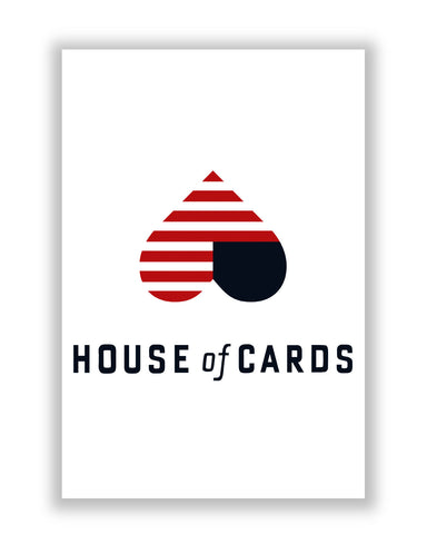 Buy TV Posters Online | House Of Cards Heart Frank And Claire Underwood Poster | PosterGuy.in
