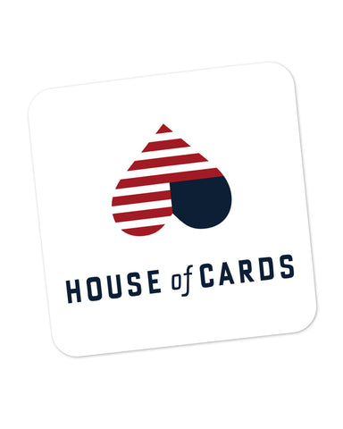 House Of Cards Heart Frank And Claire Underwood Coaster Online India