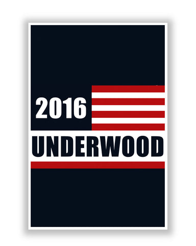 Buy TV Posters Online | Frank Underwood for President 2016 House Of Cards Poster | PosterGuy.in