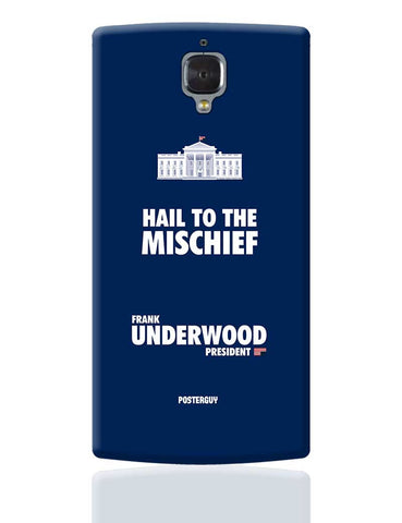 White House Frank Underwood House Of Cards OnePlus 3 Cover Online India