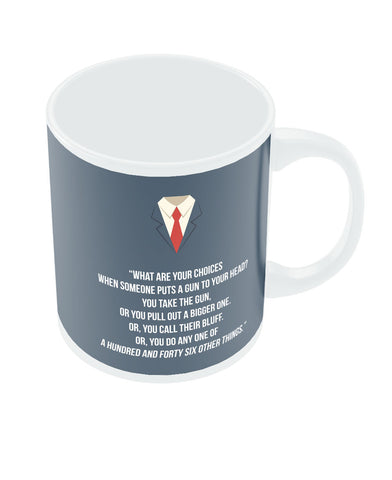 Suits Harvey Spector Quote Coffee Mug Online India