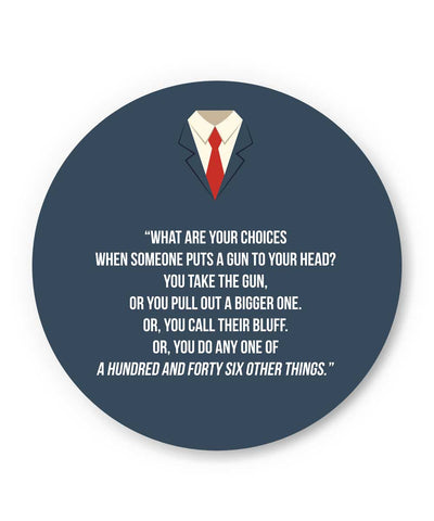 Suits Harvey Spector Quote Fridge Magnet Online India