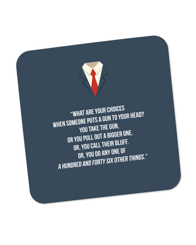 Suits Harvey Spector Quote Coaster Online India