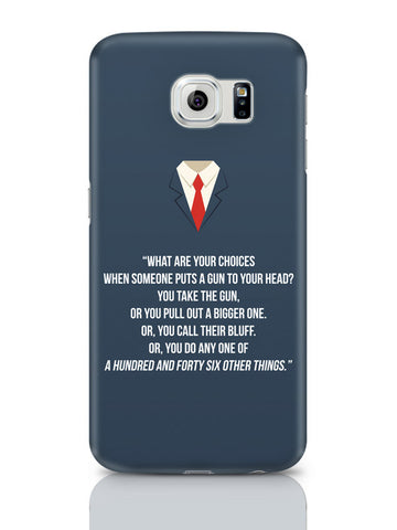 Samsung Galaxy S6 Covers & Cases | Suits Harvey Spector Quote Samsung Galaxy S6 Covers & Cases Online India