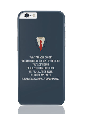 iPhone 6 Plus / 6S Plus Covers & Cases | Suits Harvey Spector Quote iPhone 6 Plus / 6S Plus Covers and Cases Online India
