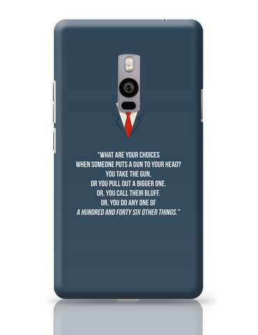 OnePlus Two Covers | Suits Harvey Spector Quote OnePlus Two Cover Online India