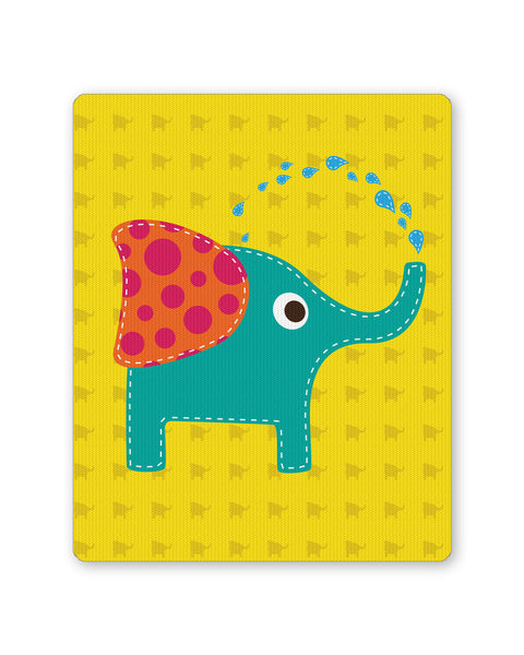 Mouse Pads | Blue Elephant Quirky Mouse Pad Online India | PosterGuy.in