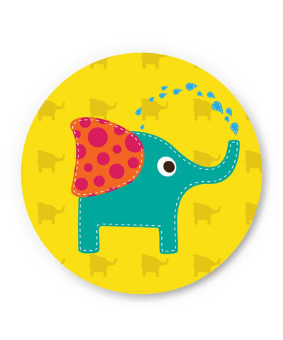Blue Elephant Quirky Fridge Magnet Online India | PosterGuy.in