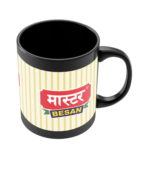 Master Besen Quirky Funny Black Coffee Mug Online India | PosterGuy.in
