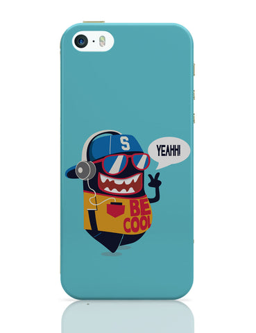 iPhone 5 / 5S Cases & Covers | Pop Be Cool Art Illustration iPhone 5 / 5S Case Online India