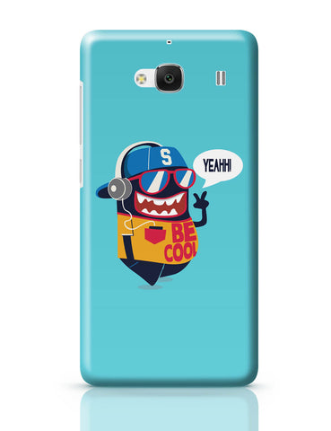 Xiaomi Redmi 2 / Redmi 2 Prime Cover| Pop Be Cool Art Illustration Redmi 2 / Redmi 2 Prime Online India