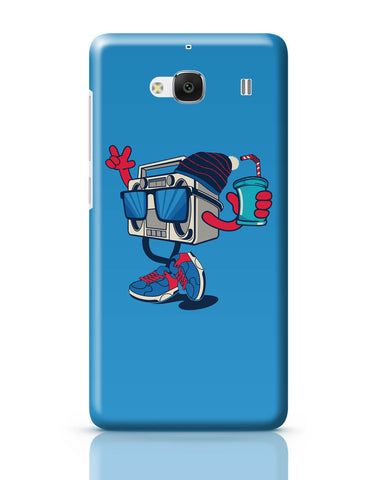 Xiaomi Redmi 2 / Redmi 2 Prime Cover| Pop Art Boom Box Redmi 2 / Redmi 2 Prime Online India