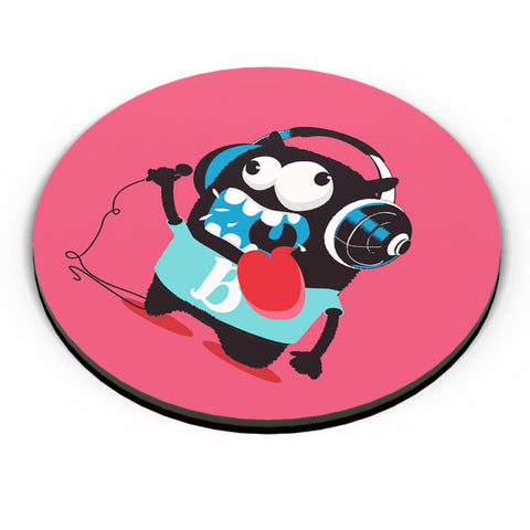 PosterGuy | Pop Art Crazy Singer Monster Fridge Magnet Online India by Mayank Dhawan