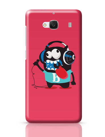 Xiaomi Redmi 2 / Redmi 2 Prime Cover| Pop Art Crazy Singer Monster Redmi 2 / Redmi 2 Prime Online India