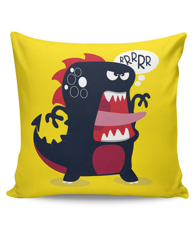 PosterGuy | Pop Art Dinosaur Illustration Cushion Cover Online India