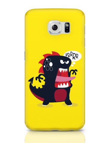 Samsung Galaxy S6 Covers | Pop Art Dinosaur Illustration Samsung Galaxy S6 Covers Online India