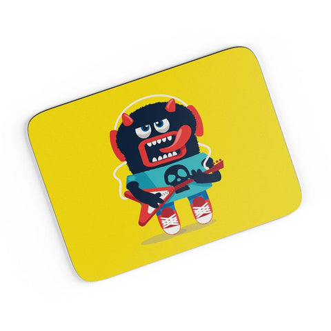 Pop Art Monster Guitar A4 Mousepad Online India