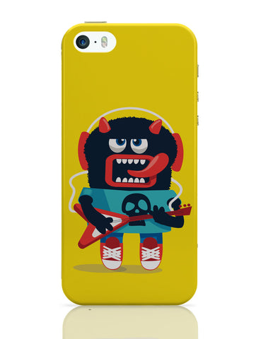 iPhone 5 / 5S Cases & Covers | Pop Art Monster Guitar iPhone 5 / 5S Case Online India