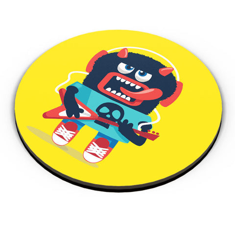 PosterGuy | Pop Art Monster Guitar Fridge Magnet Online India by Mayank Dhawan
