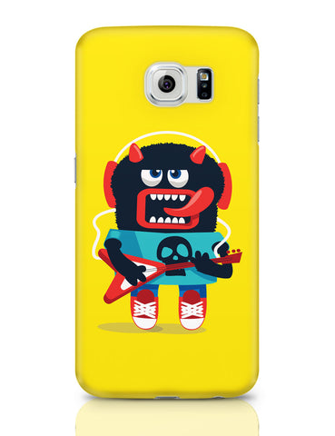Samsung Galaxy S6 Covers | Pop Art Monster Guitar Samsung Galaxy S6 Covers Online India