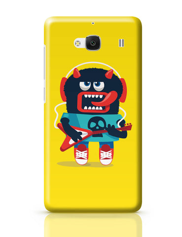 Xiaomi Redmi 2 / Redmi 2 Prime Cover| Pop Art Monster Guitar Redmi 2 / Redmi 2 Prime Online India