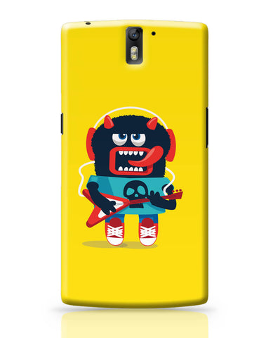 OnePlus One Covers | Pop Art Monster Guitar OnePlus One Covers Online India