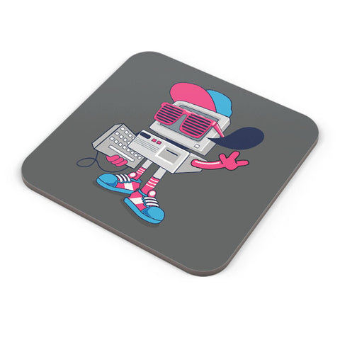 Buy Coasters Online | Pop Art Old School Computer Coaster Online India | PosterGuy.in