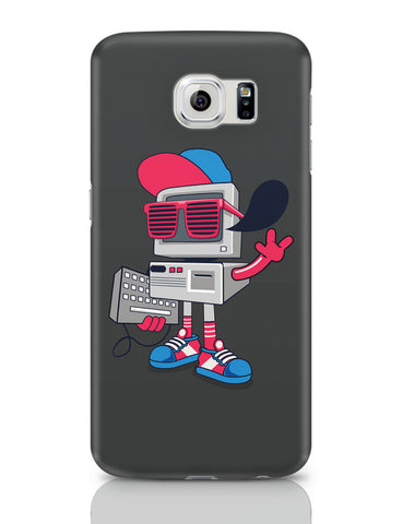 Samsung Galaxy S6 Covers | Pop Art Old School Computer Samsung Galaxy S6 Covers Online India