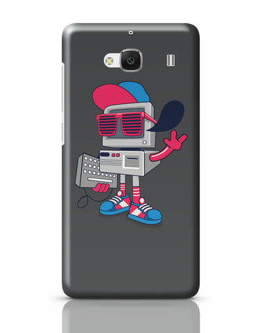 Xiaomi Redmi 2 / Redmi 2 Prime Cover| Pop Art Old School Computer Redmi 2 / Redmi 2 Prime Online India