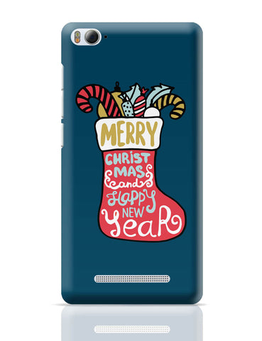 Xiaomi Mi 4i Covers | Santa Sock Christmas Xiaomi Mi 4i Cover Online India
