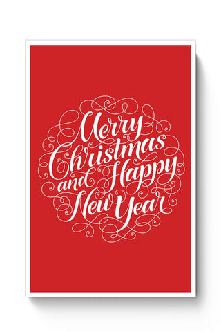 Posters Online | New Year & Christmas Typography Poster Online India | Designed by: Mayank Dhawan