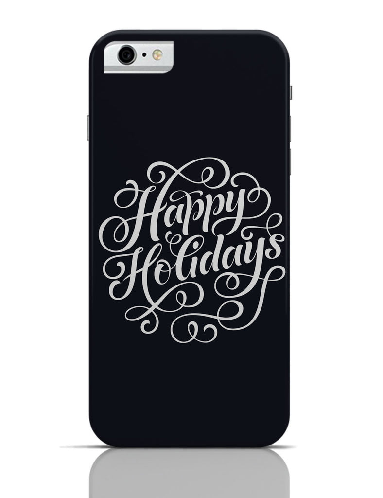 new product a0155 b9b13 Happy Holidays Typo iPhone 6 / 6S Case