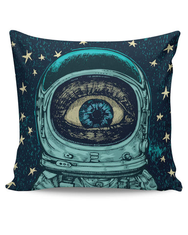 PosterGuy | Astronaut Alien In Space Cushion Cover Online India