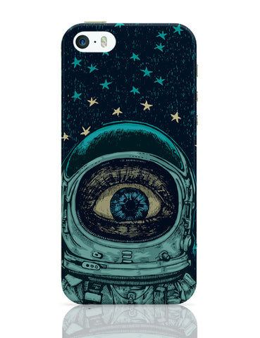 Astronaut Alien in Space iPhone 5 / 5S Case