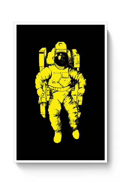 Posters Online | Astronaut Against The Sun Poster Online India | Designed by: Mayank Dhawan
