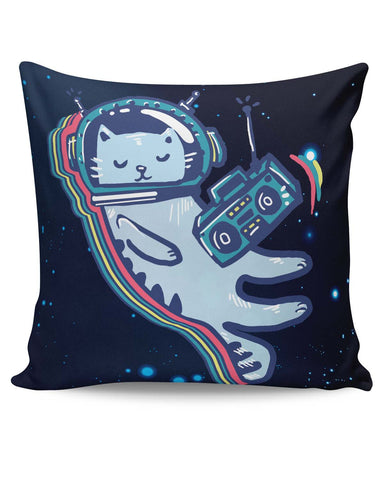 PosterGuy | Space Cat Cushion Cover Online India