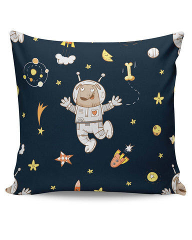 PosterGuy | Space Dog Pattern Cushion Cover Online India