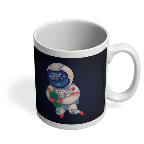 Coffee Mugs Online | Astronaut Playing Games Mug Online India