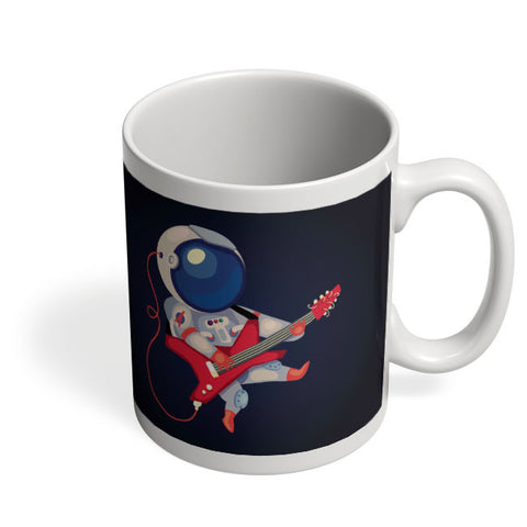 Coffee Mugs Online | Astronaut Playing Guitar Mug Online India