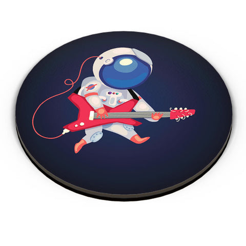 PosterGuy | Astronaut Playing Guitar Fridge Magnet Online India by Mayank Dhawan