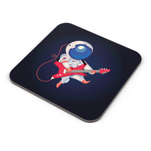 Buy Coasters Online | Astronaut Playing Guitar Coaster Online India | PosterGuy.in