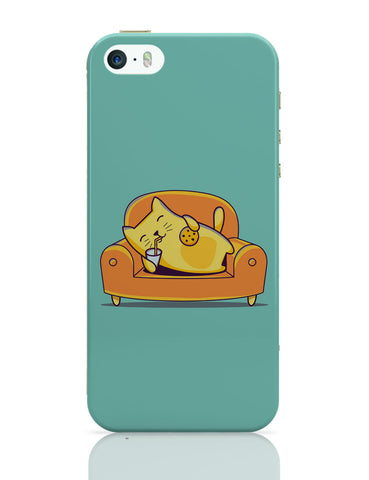 iPhone 5 / 5S Cases & Covers | Lazy Cat iPhone 5 / 5S Case Online India