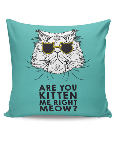 PosterGuy | Are You Kitten Me Right Meow? Cushion Cover Online India