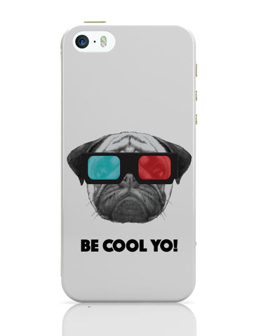 iPhone 5 / 5S Cases & Covers | Be Cool Yo Cat iPhone 5 / 5S Case Online India