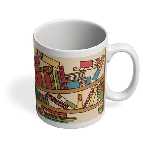 Coffee Mugs Online | Cat 'n' Books Mug Online India