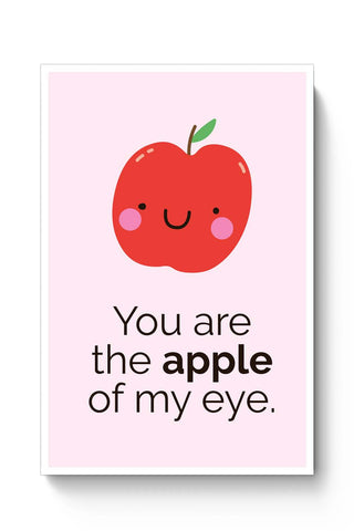 Posters Online | Apple Of My Eye Poster Online India | Designed by: Mayank Dhawan